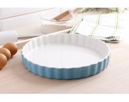 Naczynie ceramiczne do tarty KUCHENPROFI LIGHT BLUE 28 cm -- niebieski błękitny - rabat 10 zł na pierwsze zakupy!
