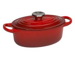 Garnek owalny 0.9 l Le Creuset czerwony 21002170602461 - do kupienia: www.superwnetrze.pl