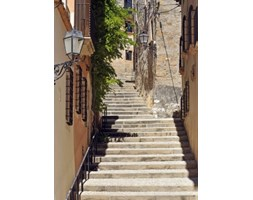 Schody, Tarragona, Hiszpania - fototapeta