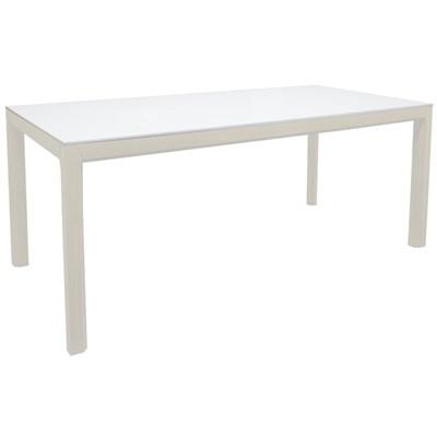 Tenzo Patch Nowoczesny Biały Stół, Biały Lakier Matowy  - 2281-477