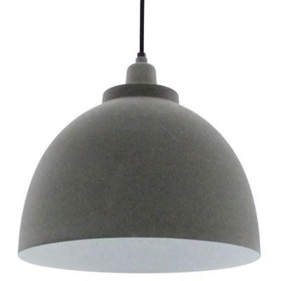 Light & Living Kylie Lampa Wisząca Szara 30cm - 3036025