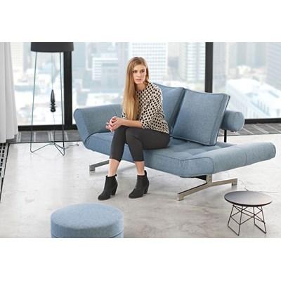 Innovation Istyle Ghia, Sofa Rozkładana, Niebieska Tkanina 525 - 743020525