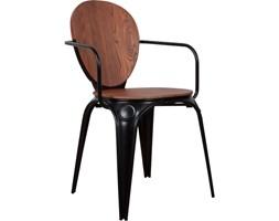 Zuiver :: Krzesło Louix z podłokietnikami - antique black