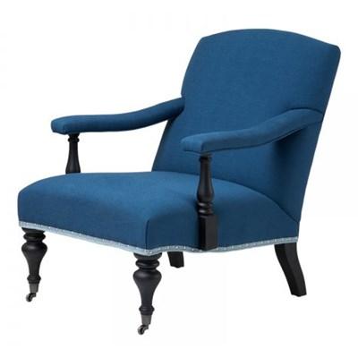 EICHHOLTZ Trident Fotel Niebieski Tkanina - 08090