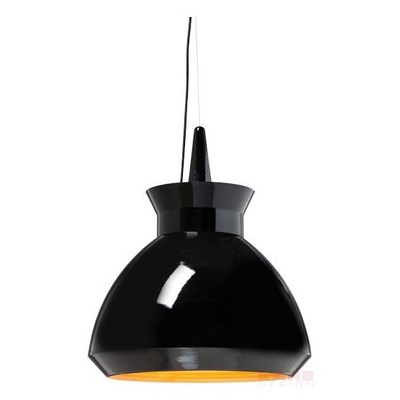 Kare Design Sting Lampa Wisząca Czarna 50cm - 33679