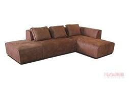 Kare Design Infinity Antique Narożnik Prawy Rust Tkanina 302x70x182cm - 78638