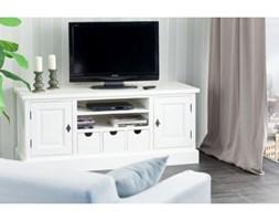 Dekoria Szafka RTV Brighton 150cm white, 150x55x65cm