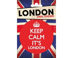 London Keep Calm - naklejka