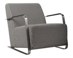 Fotel ADWIN FELT czarno-biały // ZUIVER