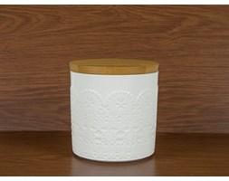 Pojemnik ceramiczny DUO KORONKA 0,8 l - rabat 10 zł na pierwsze zakupy!