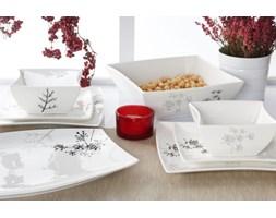 Serwis obiadowy DUO FINO na 6 osób (20 el.) -- biały - rabat 10 zł na pierwsze zakupy!