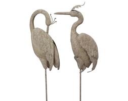 Dekoracyjny ptak ogrodowy Dekoracja Zestaw Figura Shabby Chic