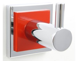 Akcesoria łazienkowe Kolor Czerwony Wyposażenie Wnętrz