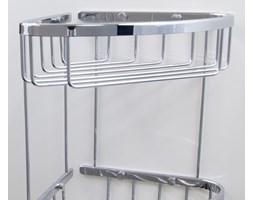 Potrójny koszyk łazienkowy rogowy (3ply) A3-010