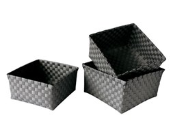 GO Strips Grey 24x24x13cm koszyk