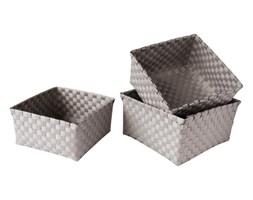 GO Strips Taupe 24x24x13cm koszyk