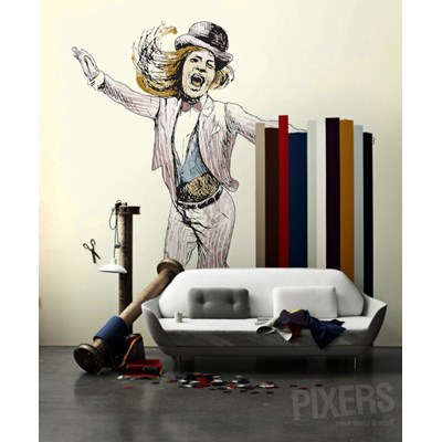 PANIE I PANOWIE! Fototapeta 270 x 260 cm