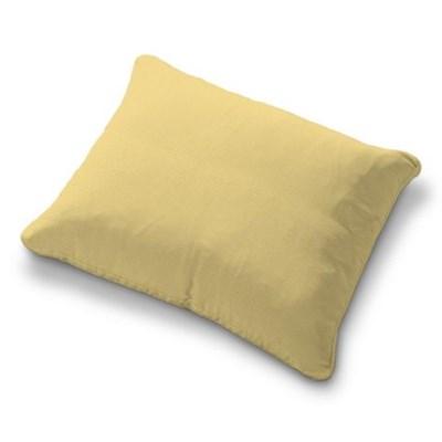 Dekoria Poszewka na poduszkę Karlstad 58x48cm, piaskowo-żółty sztruks, poduszka Karlstad 58x48cm, Manchester