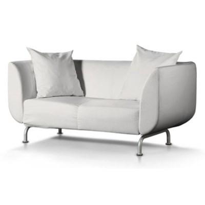 Dekoria Pokrowiec na sofę Stromstad 2-osobową, kremowa biel, Sofa Stromstad 2-osobowa, Etna
