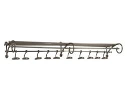 Dekoria Wieszak Michigan 140cm nikiel, 140x33, wys. 19cm