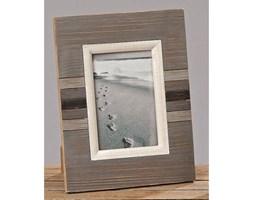 Dekoria Ramka foto North Sea drewniana 21,5x28cm kolor stalowy, 21,5x28cm