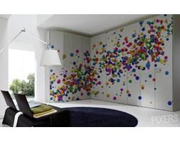 COLORFUL BALLS Naklejka 400 x 230 cm