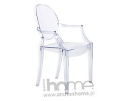 Krzesło Royal transparentne - inspirowane Louis Ghost, archonhome.pl