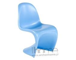 Krzesło Balance niebieskie - inspirowane Panton Chair, archonhome.pl