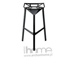 Stołek barowy Gap czarny - inspirowany One, archonhome.pl