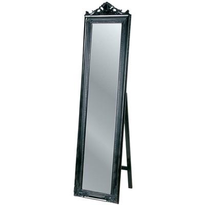 Kare Design Lustro Standing Baroque Czarne - 72155