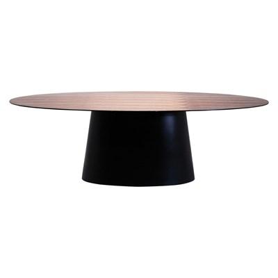 Kare Design Designerski Drewniany Stół Controversia Orzech - 76706