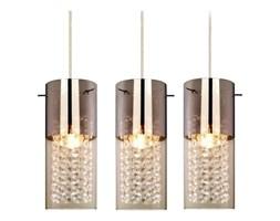 LAMPA wisząca ZARA LP-5221/3L Light Prestige przezroczysta OPRAWA kryształki szklana glamour crystal tuby chrom