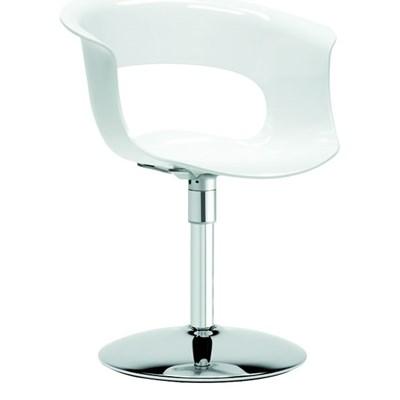 Machina Meble MISS B twist Krzesło Białe - 2693-310