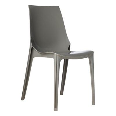 Machina Meble VANITY CHAIR Krzes�o Szare - 2652-315