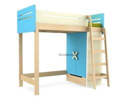 Łóżko piętrowe prawe - Timoore - Simple Blue