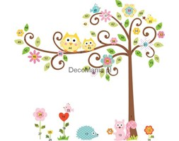 Naklejki dla dzieci RoomMates RMK1439SLM Kwitnące drzewo