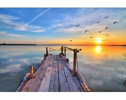 Fototapeta F2537 - Zachód słońca z mola