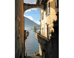 Fototapeta F3038 - Romantyczny widok na włoskie jezioro Como