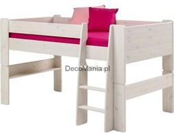Łóżko piętrowe niskie - Steens for kids - sosna biała
