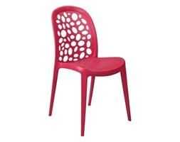 Krzesło Bladder czerwone kod: DK-23818 - do kupienia: www.superwnetrze.pl