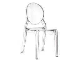 Krzesło Baby Mia transparent kod: DK-5347 - do kupienia: www.superwnetrze.pl