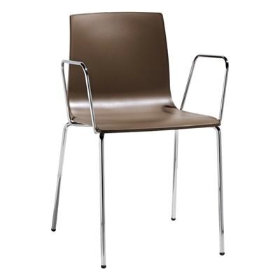 Machina Meble ALICE Krzesło Brązowe - 2676