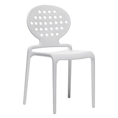 Machina Meble COLETTE Krzesło Białe - 2283-11