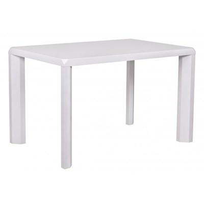 Machina Meble Logan Stół Biały Wysoki Połysk 120 x 80 cm - WL1-166