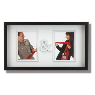 Umbra You & Me Czarno Bia�a Ramka Na Zdj�cia 48 x 28 cm - 316150-040