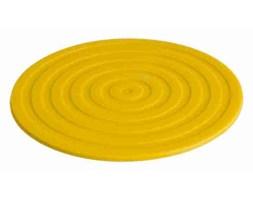 Podkładki silikonowe 10cm 6szt, żółte