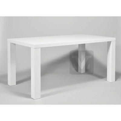 Machina Meble Stół Biały Wysoki Połysk 160 x 90 cm  - mm0u254705