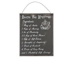 Tabliczka dekoracyjna: Przepis na szczęście