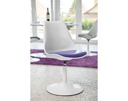 Tenzo Viva Nowoczesne Krzesło Obrotowe Biało Fioletowe - 3303-440