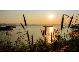 Fototapeta F5321 - Wieczór nad jeziorem